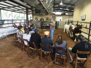 Todd Vineyard, Wise County Extension Ag Agent addressed how to pick a calf that will meet expectations.